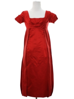 1950's Womens Fab Fifties Designer Cocktail Dress*
