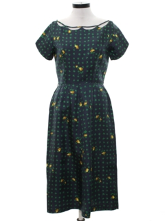 1950's Womens Fab Fifties Two Piece Dress*