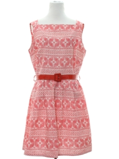 1950's Womens Fab Fifties Mini Day Dress