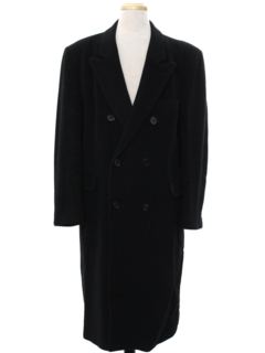 1980's Mens Overcoat Jacket