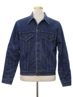 1960's Mens Levis Denim Trucker Jacket
