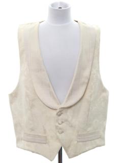 1960's Mens Victorian Style Vest