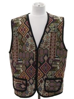 1970's Mens Hippie Style Vest