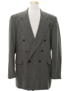 1980's Mens Totally 80s Swing Style Blazer Sport Coat Jacket