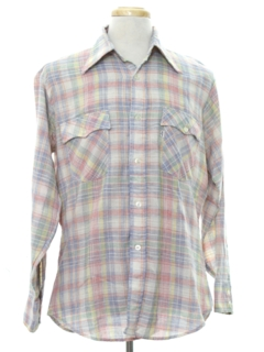 1970's Mens Levis Western Shirt