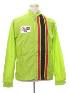 1980's Mens Mod Racing Jacket