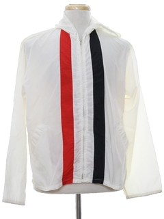 1980's Mens Racing Style Windbreaker Jacket