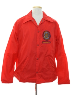 1970's Mens Wind Breaker Zip Work Jacket