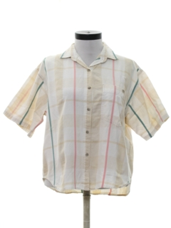 1990's Womens Wicked 90s Cropped Shirt