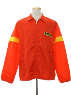 1970's Mens Mod Racing Style Windbreaker Jacket