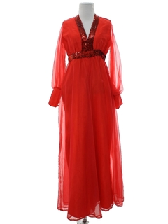 1960's Womens Cocktail Dress Style Jumpsuit