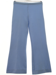 1970's Womens Flared Knit Pants