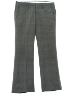 1970's Mens Mod Flared Leisure Style Disco Pants