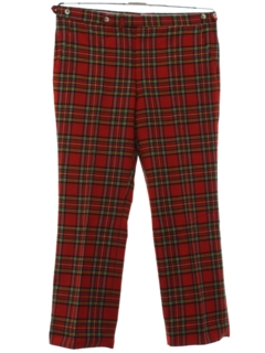 1960's Mens Wool Golf Pants