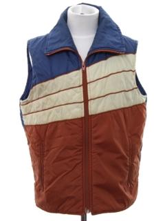 1970's Unisex Ski Vest Jacket
