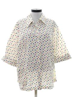 1970's Womens Smock Shirt