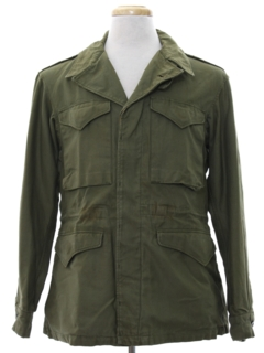1940's Mens WWII M43 Army Military Field Jacket