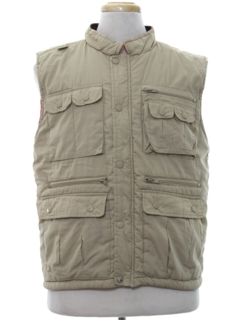 1980's Mens Field Style Hunting Vest
