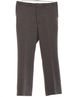 1980's Mens Flat Front Slacks Pants