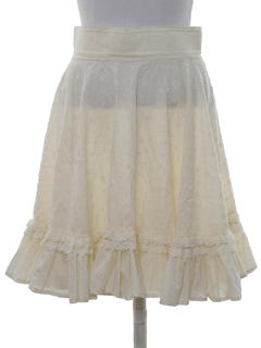1960's Womens Square Dance Skirt