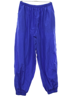 1980's Unisex Totally 80s Baggy Track Pants