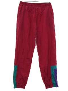 1990's Unisex Wicked 90s Baggy Hip Hop Style Track Pants