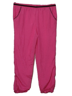 1990's Unisex Totally 80s Style Baggy Track Pants