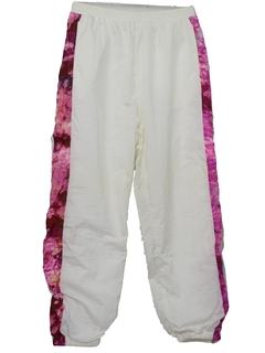 1980's Unisex Totally 80s Baggy Hip Hop Style Track Pants
