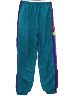 1980's Mens Totally 80s Baggy Hip Hop Style Track Pants