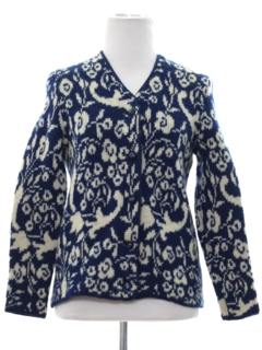 1950's Womens/Girls Cardigan Sweater