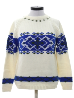 1970's Womens Mod Ski Sweater