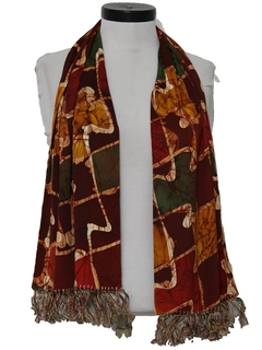 1940's Mens Accessories - Muffler Scarf
