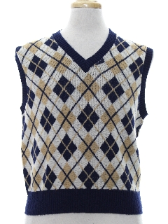 1960's Mens Mod Sweater Vest