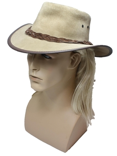 1970's Mens Accessories - Leather Hat