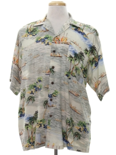 1950's Mens Hawaiian Shirt