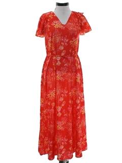 1970's Womens Hippie Style Dress