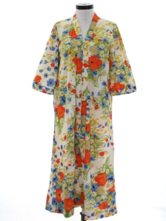 1970's Womens Lounge Style Robe