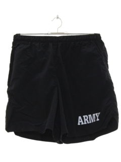 1990's Mens Army Military Sport Shorts