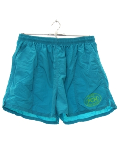 1990's Mens Wicked 90s Swim Style Shorts