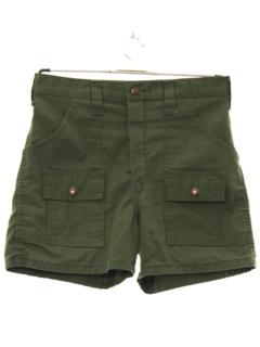 1970's Mens Cargo Sport Shorts