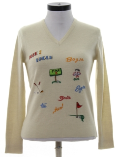 1970's Womens Golf Sweater
