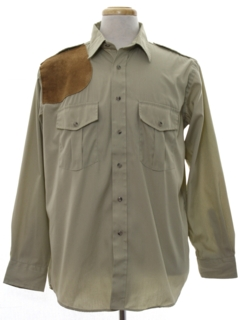 1970's Mens Hunting Shirt