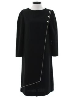 1980's Womens A-Line Dress