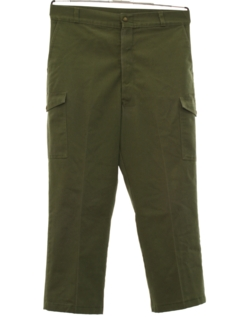 1980's Mens Boys Scout Slacks Pants