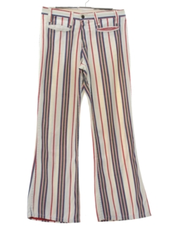 1970's Womens Mod Bellbottom Pants