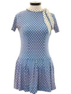 1960's Womens Mod Mini Dress
