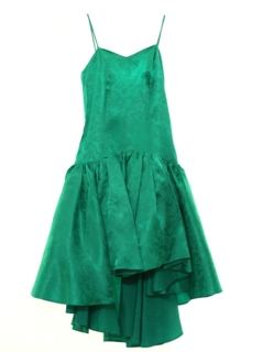 1980's Womens/Girls Totally 80s Prom Or Cocktail Mini Dress