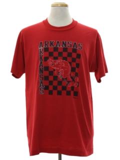 1980's Mens Sports T-shirt