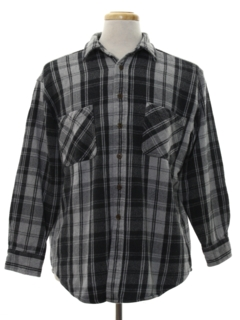 1990's Mens Grunge Flannel Shirt