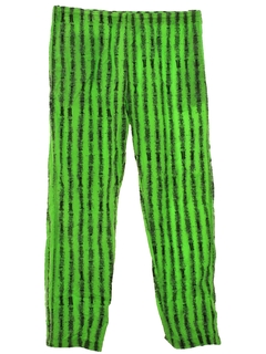 1980's Mens Totally 80s style Print Baggy Pants